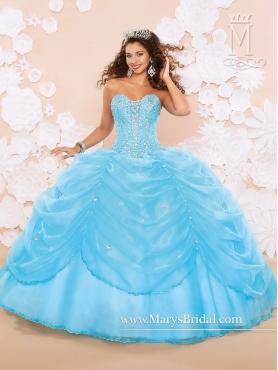 Discount Fashionable Sweetheart 2016 Quinceanera Dresses with Beading MRSY021