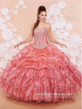 Discount Fashionable Sweetheart Quinceanera Dresses with Ruffled Layers MRSY011