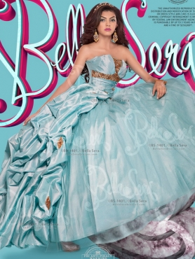 Discount Fashionable Three For One Strapless Beaded Quinceanera Dresses in Organza and Taffeta