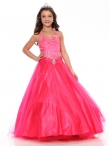 Discount Sweet A-line halter floor length Versei Girls Pageant Dress 1095 by Showtime
