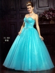 Discount 2012 Beautiful Ball gown Sweetheart  Floor-length Quinceanera Dresses Style AFFJ303