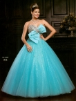 Discount 2012 Exclusive Ball gown Sweetheart Floor-length Quinceanera Dresses Style AFLS610