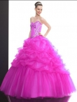 Discount Wholesale Great ball gown sweetheart-neck floor-length quinceanera dresses Q504