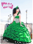 Discount Wholesale Romantic Ball gown One-shoulder Floor-length Quinceanera Dresses Style AP79-176