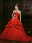 Discount Wholesale Wonderful Ball gown Sweetheart Floor-length Quinceanera Dresses Style AFJJ719
