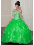 Discount Wholesale Special ball gown sweetheart-neck floor-length quinceanera dresses 88011