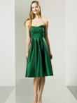 Discount Strapless Knee-length Bridesmaid Dresses Style MT8900