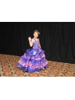 Discount Fashion straps Beading Ruffled Layers Little Girl Pageant Dress