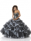 Discount 2014 Bonny Quinceanera Dress Style BNYA012