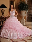Discount 2014 House of Wu Quinceanera Dress Style HOWF001