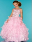 2014 Macduggal Little Girl Pageant Dress Style JNAD039