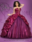 Discount 2015 Brand New and Detachable Sweet 15 Dress in Fuchsia BLAS010
