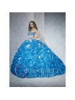 Discount New Style Beading and Appliques Ball Gown Quinceanera Dresses for 2015 HOFW028