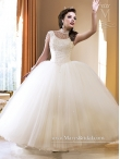 Discount 2015 Custom Made Beading White Quinceanera Dresses MASY022
