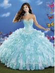 Discount Exclusive Beading and Ruffles Sweetheart Quinceanera Dresses for 2015 MRYS037