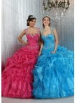 Discount Beautiful Straps On Sale Summer Quinceanera Dresses with Beading DIVC011