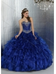 Discount Royal Blue Sweetheart Elegant Quinceanera Dresses for 2015 Summer DIVC001