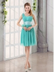 Discount New Arrival  Ruching Sweetheart A Line 2015 Elegant Dama Dress  BMT002D
