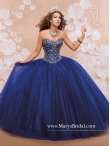 Discount Luxurious Sweetheart Beaded Quinceanera Dresses in Royal Blue MRSY015