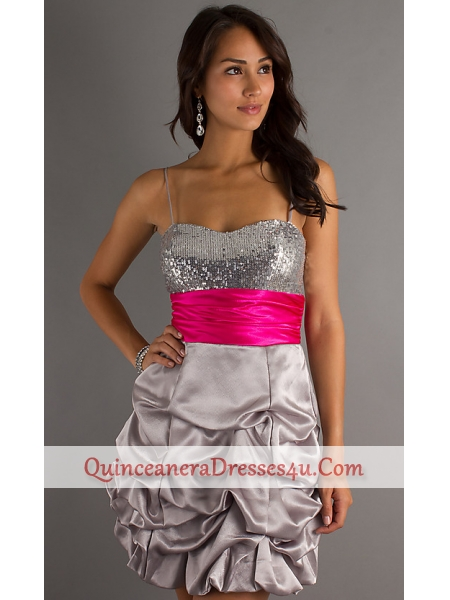 Silver Quinceanera Dresses For Damas Quinceanera idQuinceanera Dresses Pink And Silver